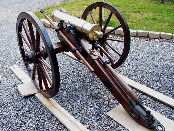 #1 Prairie Gun Carriage